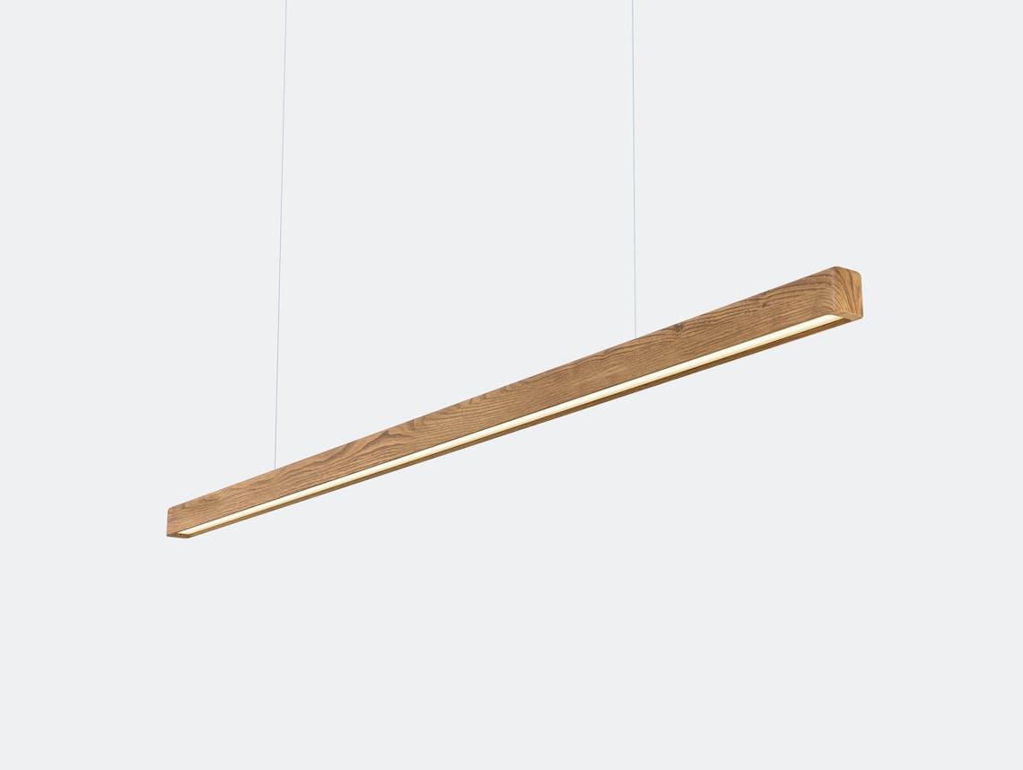 Anour I Model Wood Pendant Light oak
