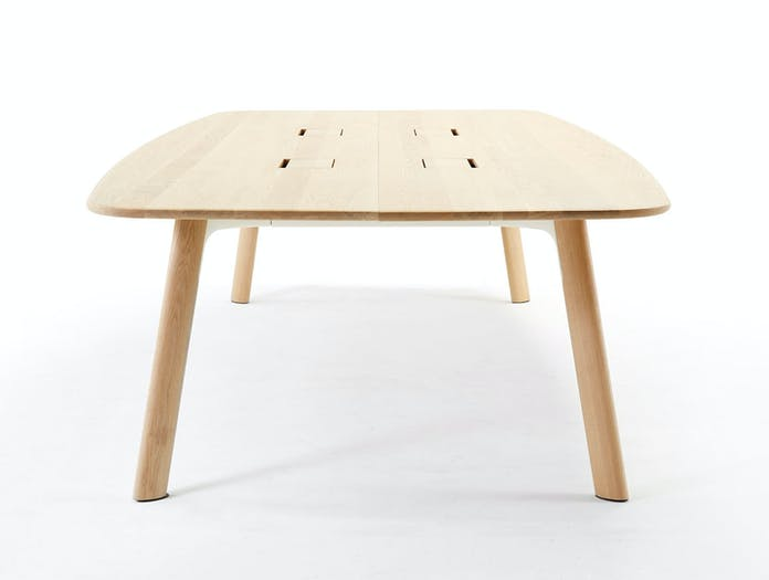 Arco Grid Work Conference Table oak 1 Jonathan Prestwich