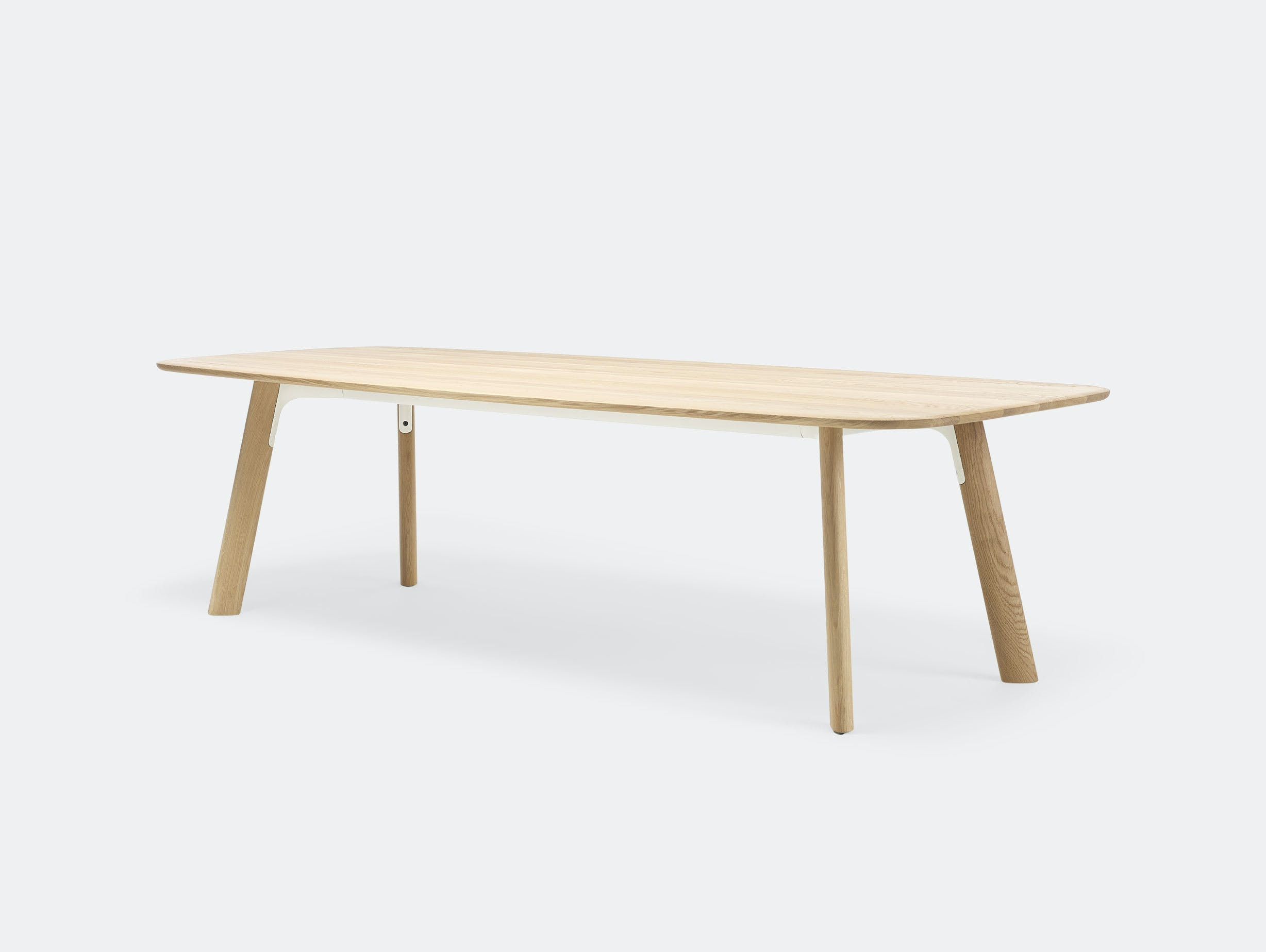 Arco Grid Work Conference Table oak Jonathan Prestwich