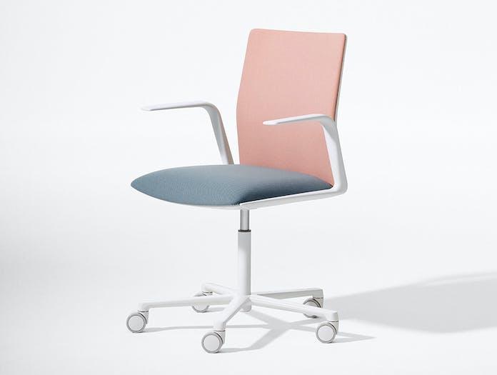 Arper Kinesit task chair 5ways armrest front face upholstery 4811