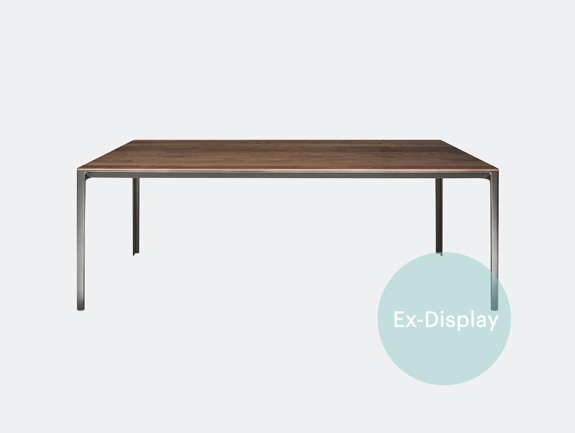 Bensen Able Table walnut ex display