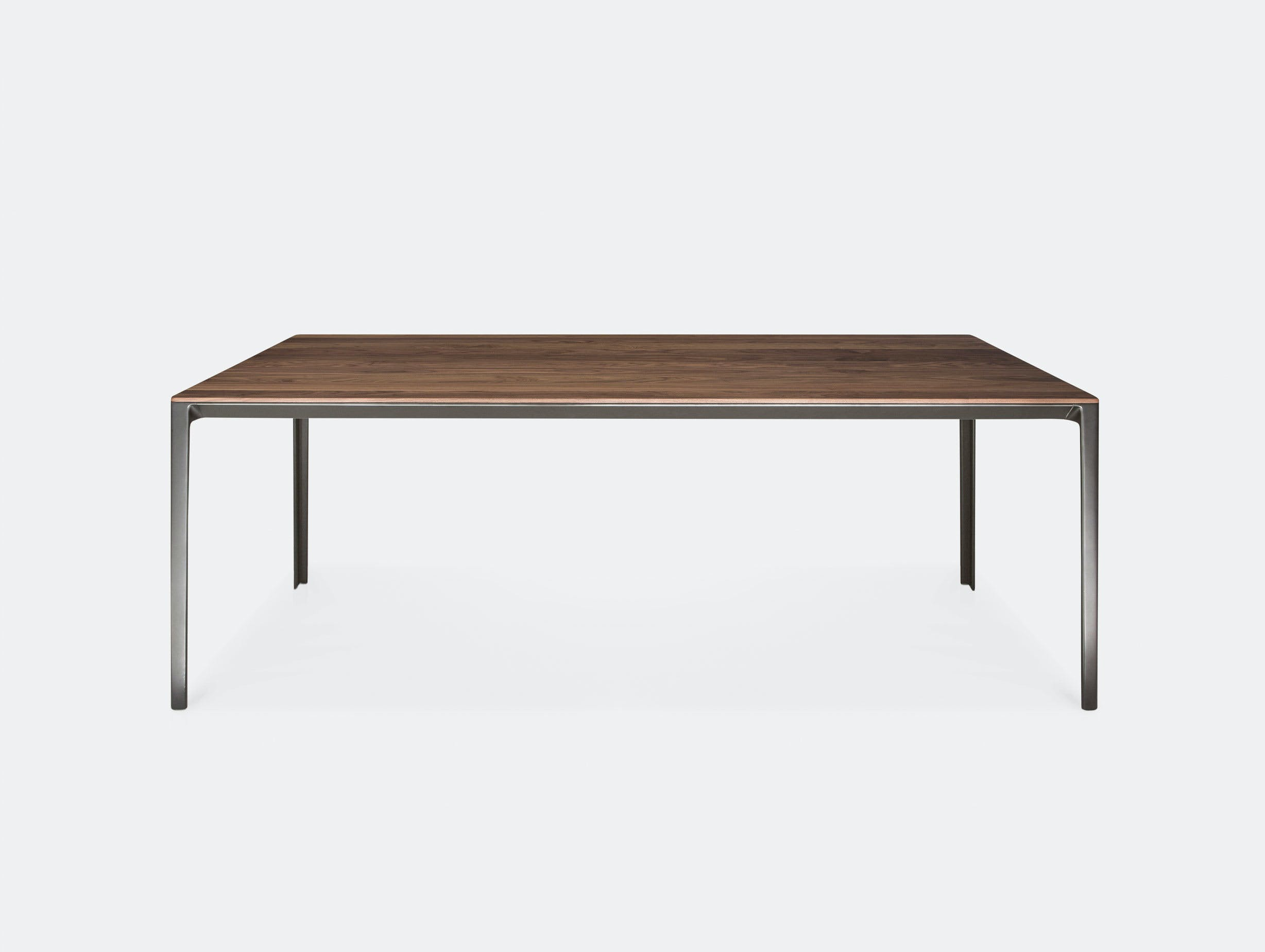 Bensen Able dining table graphite
