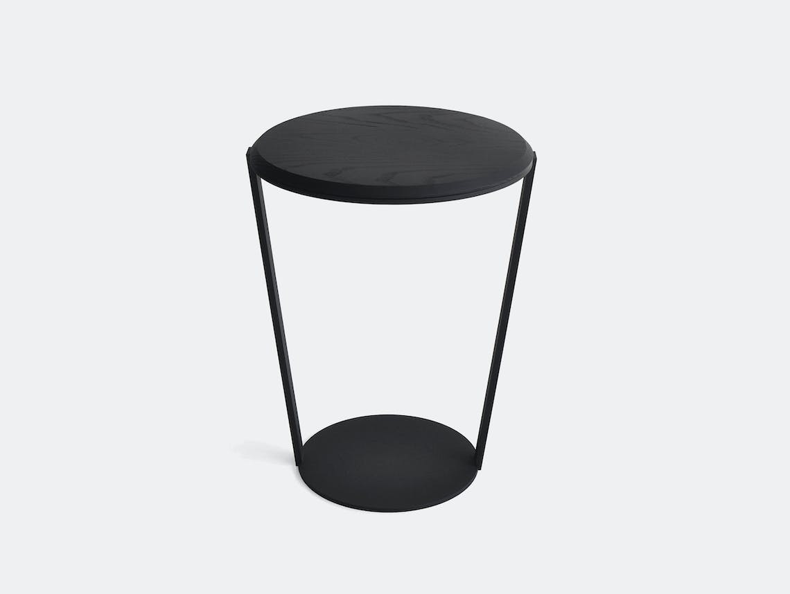 Bensen Around side table black ash