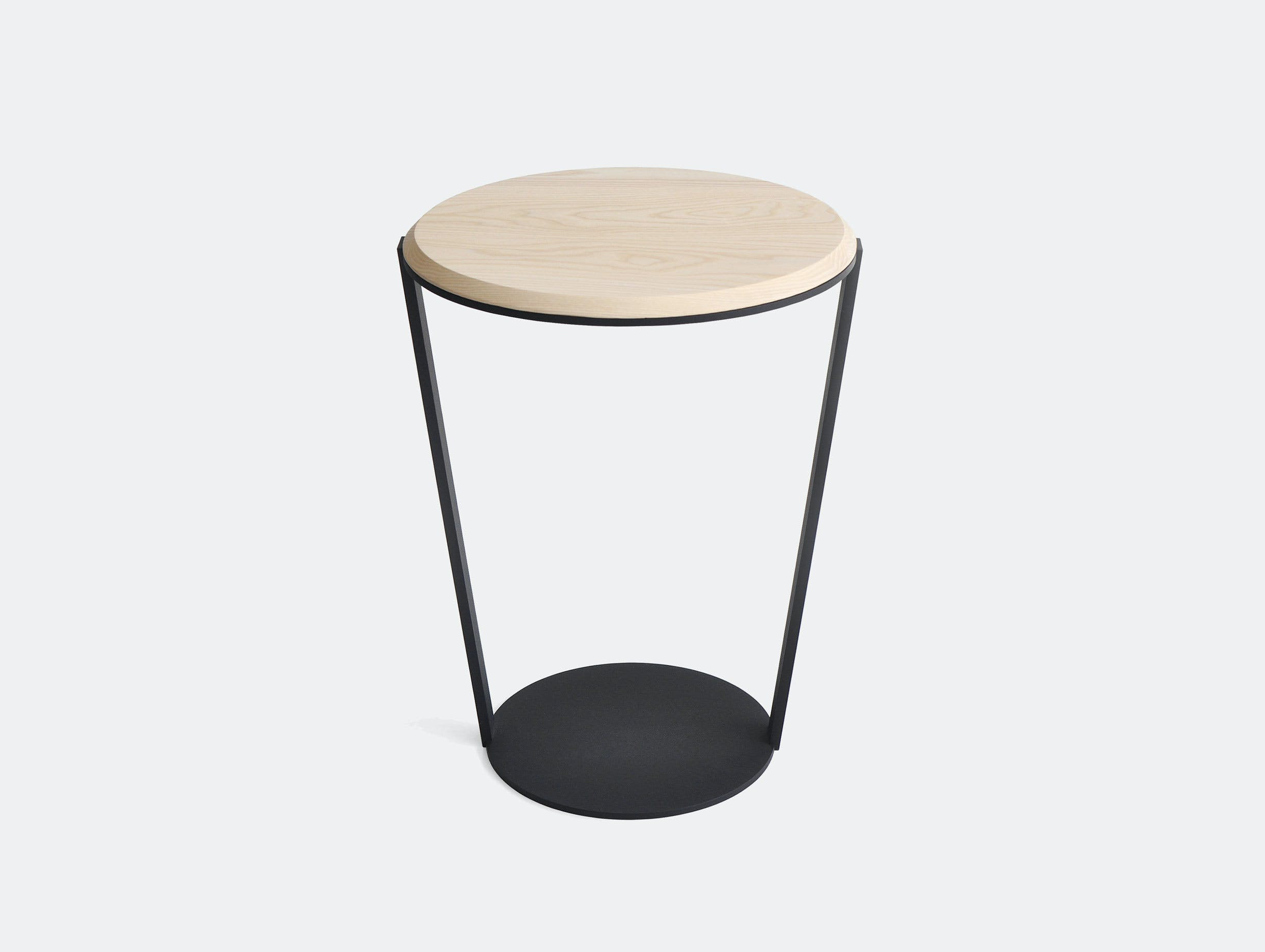 Bensen Around side table white ash
