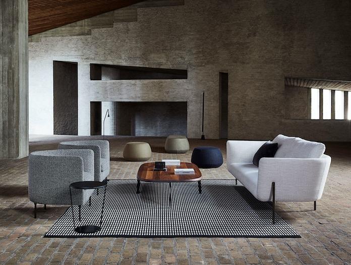Bensen Delta Club armchair and Loft sofa