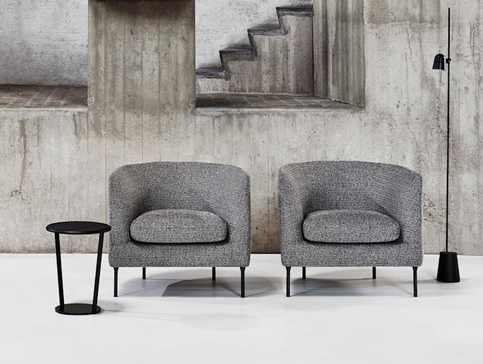 Bensen Delta Club armchairs