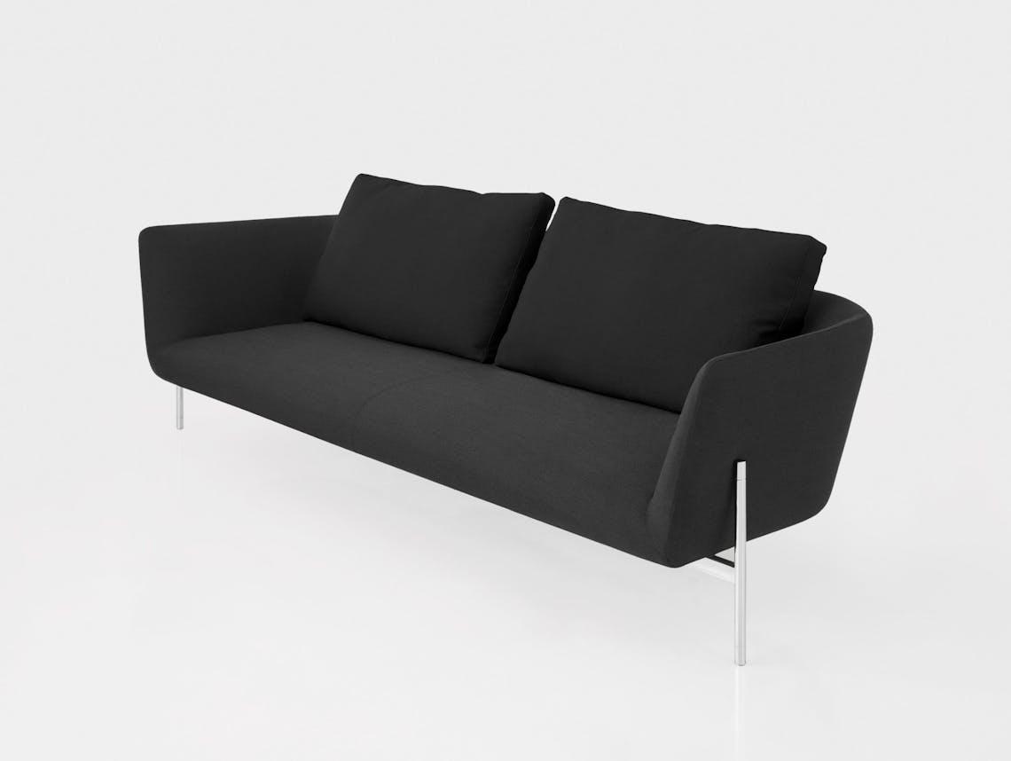 Bensen Loft Sofa dark grey
