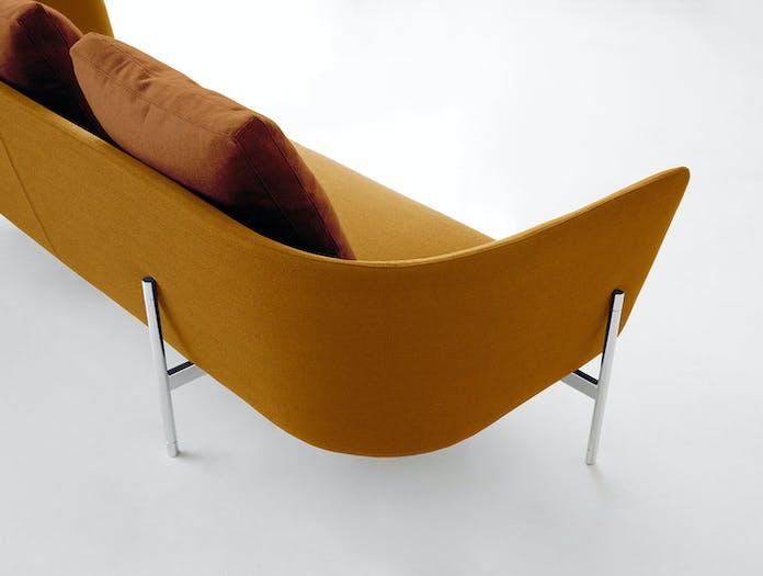 Bensen Loft Sofa Ochre Back Detail