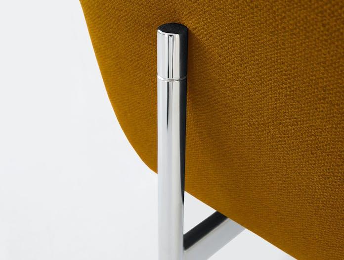 Bensen Loft Sofa Ochre Back Leg Detail