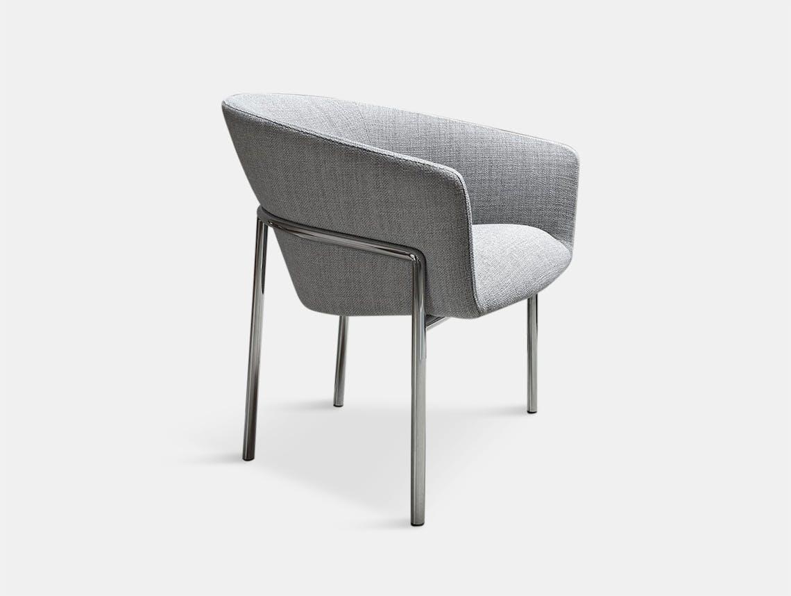 Bensen Metro Lounge Chair chrome frame Niels Bendtsen