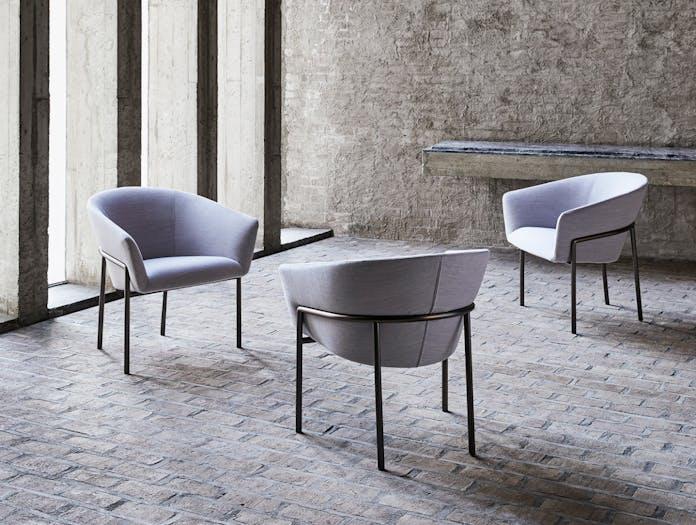 Bensen Metro Lounge Chairs Niels Bendtsen