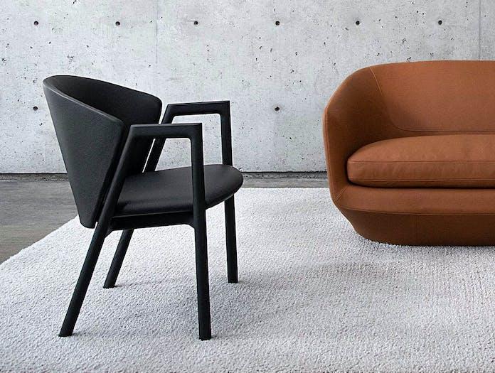 Bensen Pub Chair black leather