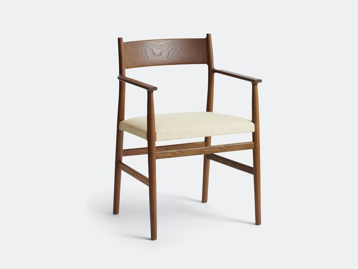 Brdr Kruger ARV Armchair Upholstered Fumed Oak Floyd Light Studio David Thulstrup