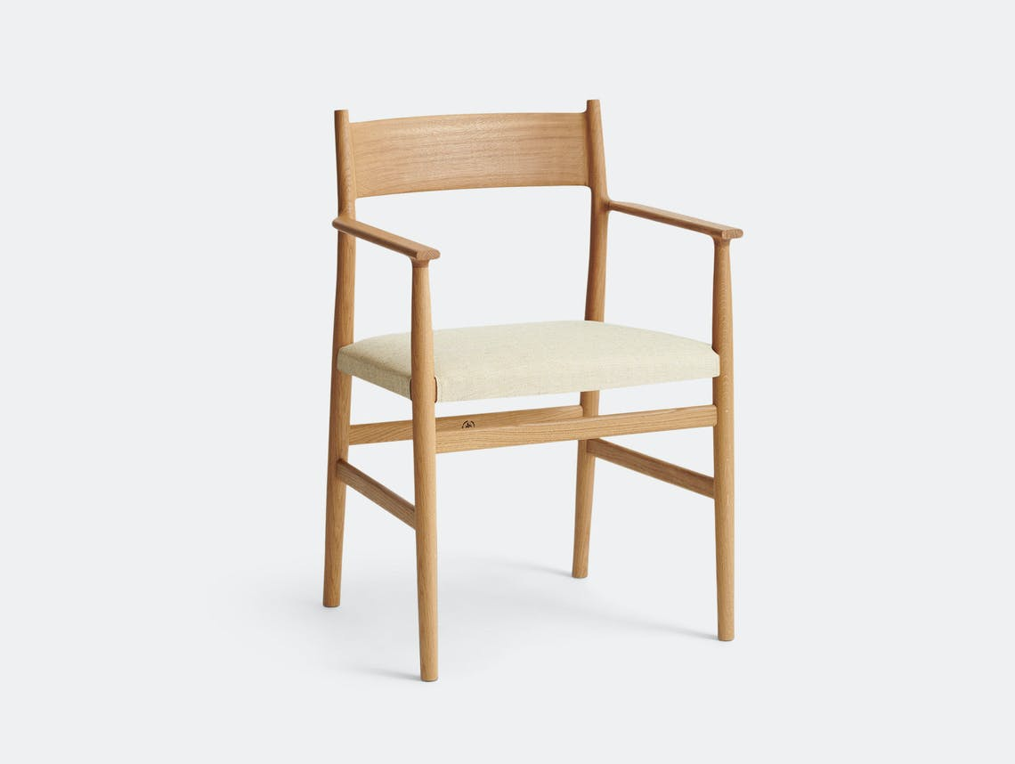 Brdr Kruger ARV Armchair Upholstered Oak Floyd Light Studio David Thulstrup