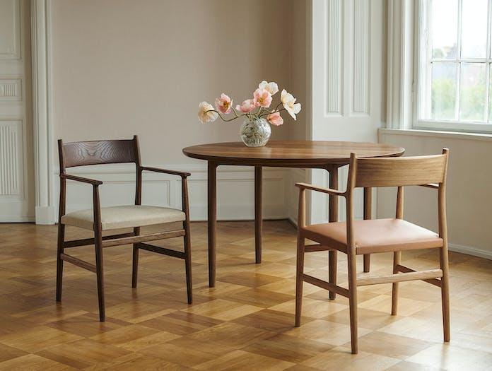 Brdr Kruger ARV Armchairs Upholstered 2 Studio David Thulstrup