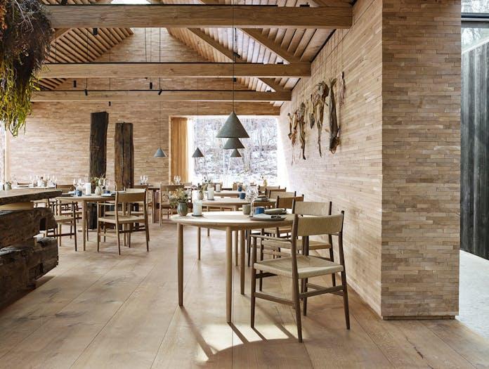 Brdr Kruger ARV Armchairs restaurant 2 Studio David Thulstrup
