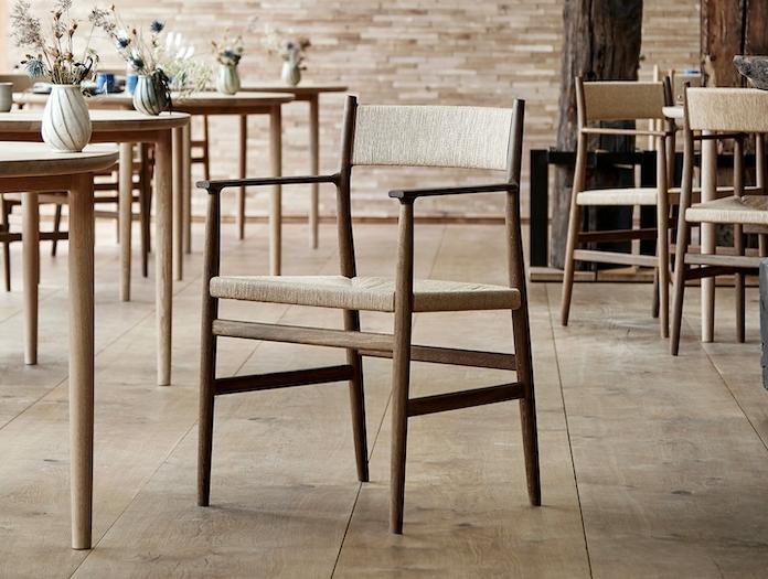 Brdr Kruger ARV Armchairs restaurant 3 Studio David Thulstrup
