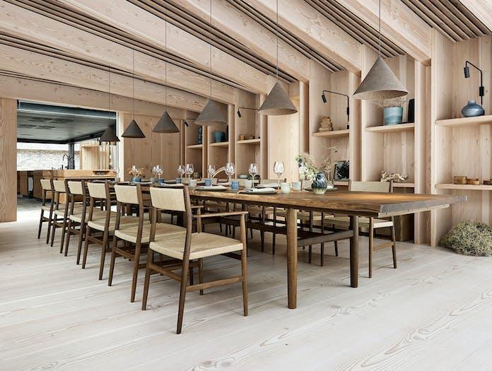 Brdr Kruger ARV Armchairs restaurant Studio David Thulstrup