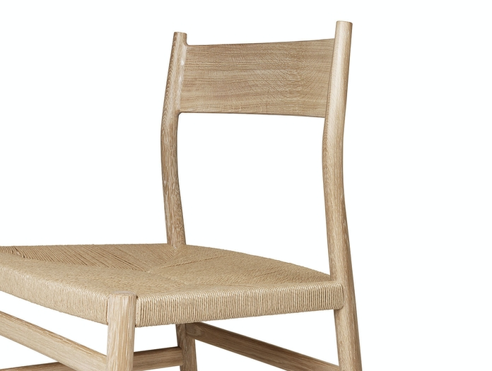 Brdr Kruger ARV Side Chair detail Studio David Thulstrup