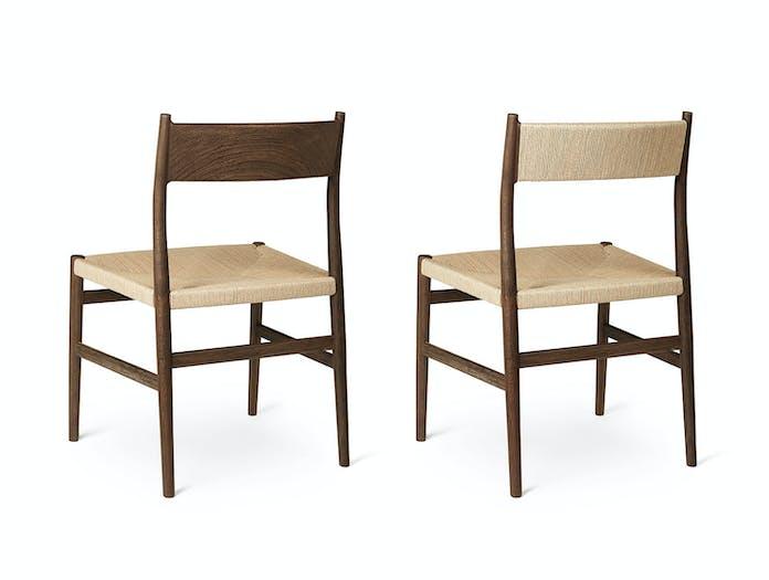 Brdr Kruger ARV Side Chair fumed oak Studio David Thulstrup