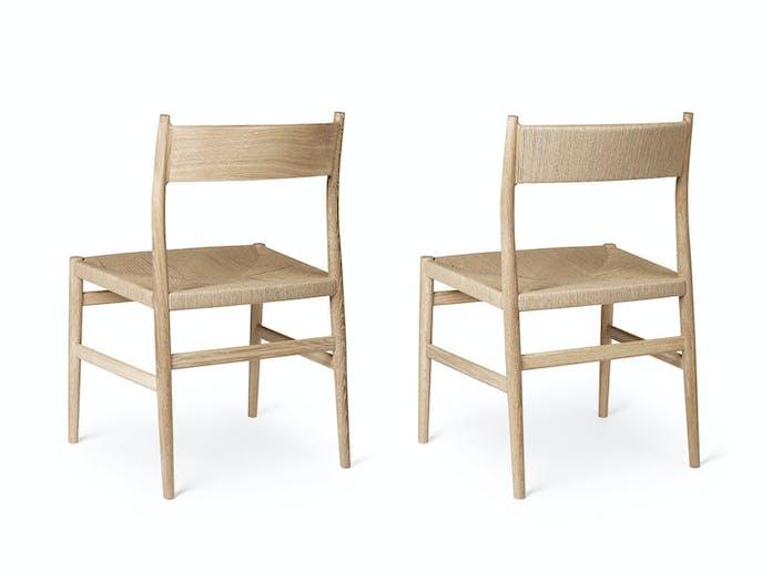 Brdr Kruger ARV Side Chair oak Studio David Thulstrup