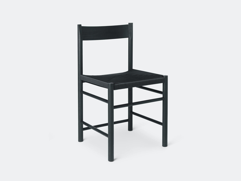 Brdr Kruger F Side Chair ash black Rasmus Baekkel Fex