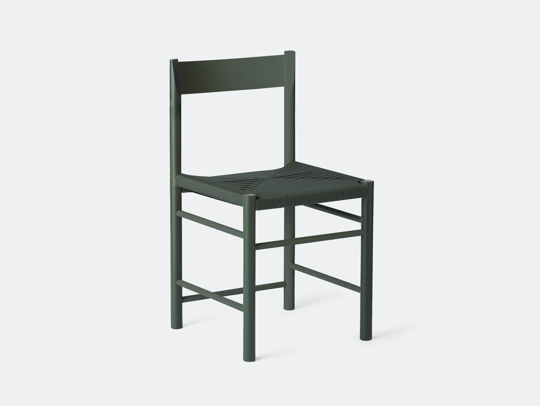 Brdr Kruger F Side Chair ash green Rasmus Baekkel Fex