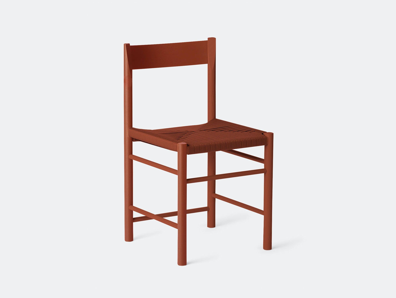 Brdr Kruger F Side Chair ash red Rasmus Baekkel Fex