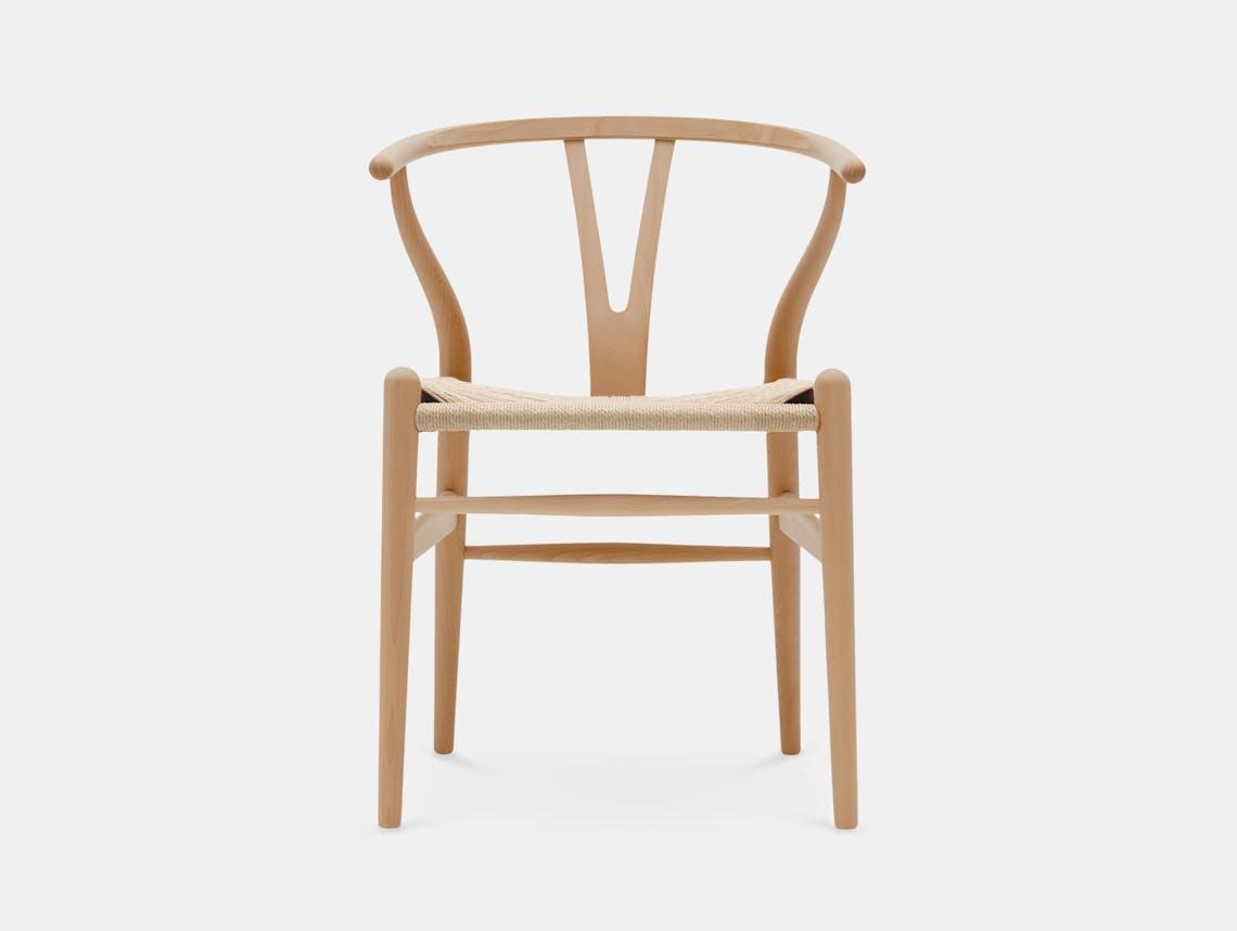 Carl Hansen CH24 Wishbone Chair Oiled Beech Hans Wegner