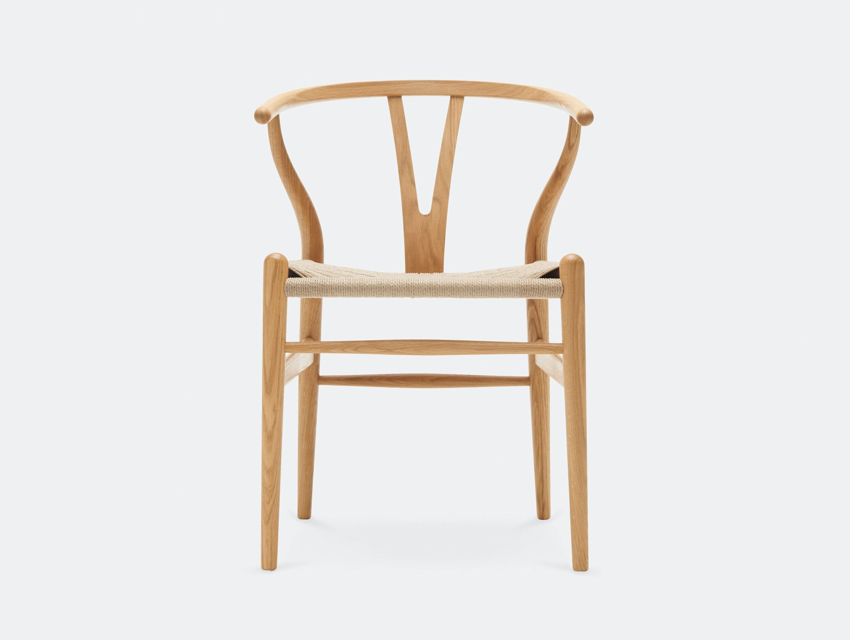 Carl Hansen CH24 Wishbone Chair Oiled Oak Hans Wegner