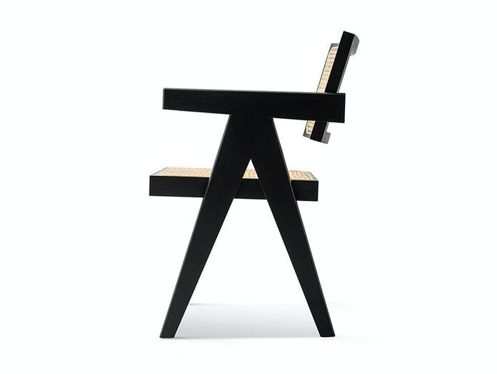 Cassina Capitol Complex Office Chair side Pierre Jeanneret