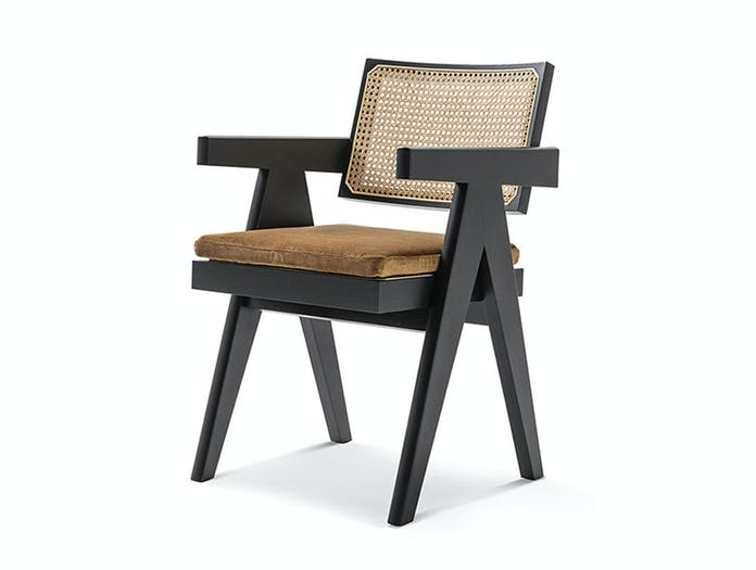 Cassina Capitol Complex Office Chair with arms Pierre Jeanneret