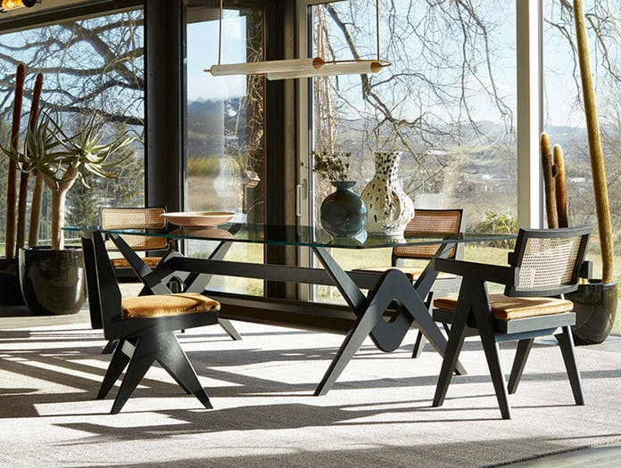 Cassina Capitol Complex Office Chairs 2 Pierre Jeanneret