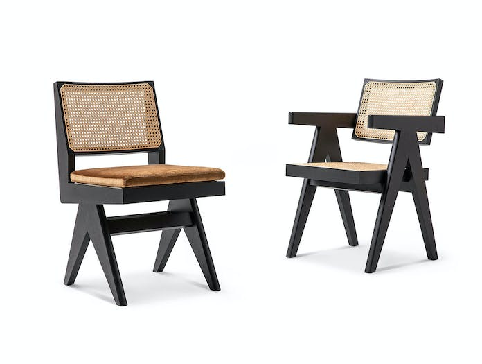 Cassina Capitol Complex Office Chairs Pierre Jeanneret