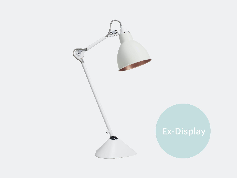 DCW No 205 La Lampe Gras Table Light white ex display
