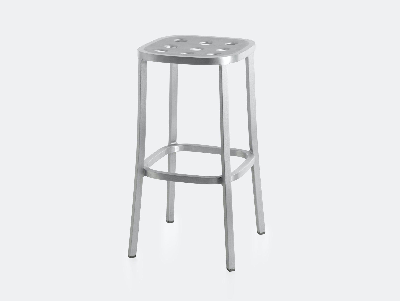 Emeco 1 Inch All Aluminium Barstool 2 Jasper Morrison