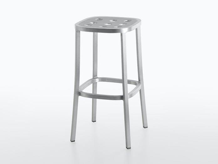 Emeco 1 Inch All Aluminium Barstool 3 Jasper Morrison