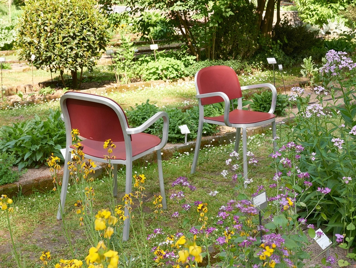 Emeco 1 Inch Armchairs Outdoor Jasper Morrison