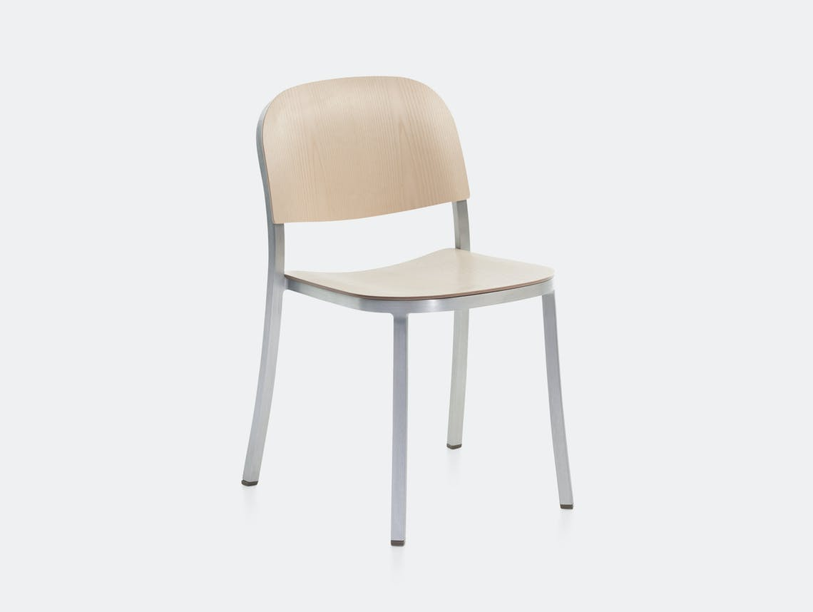 Emeco 1 Inch Chair Aluminium Ash Jasper Morrison