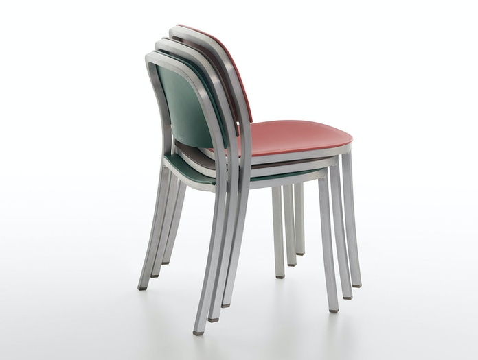 Emeco 1 Inch Chair stackable Jasper Morrison