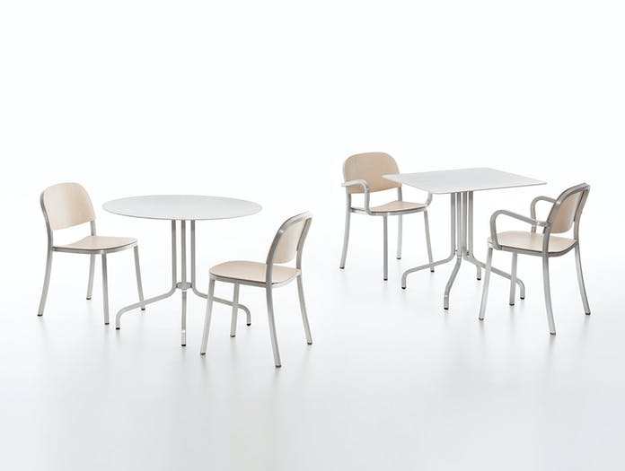 Emeco 1 Inch Chairs Armchairs Aluminium Ash Jasper Morrison