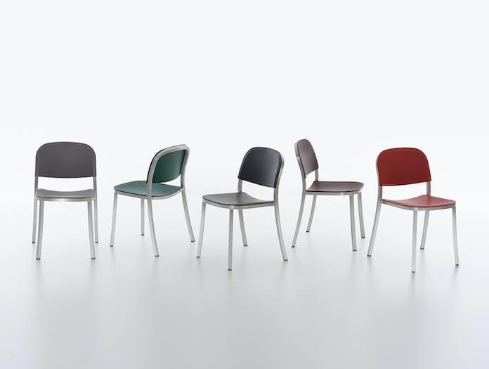 Emeco 1 Inch Chairs Jasper Morrison