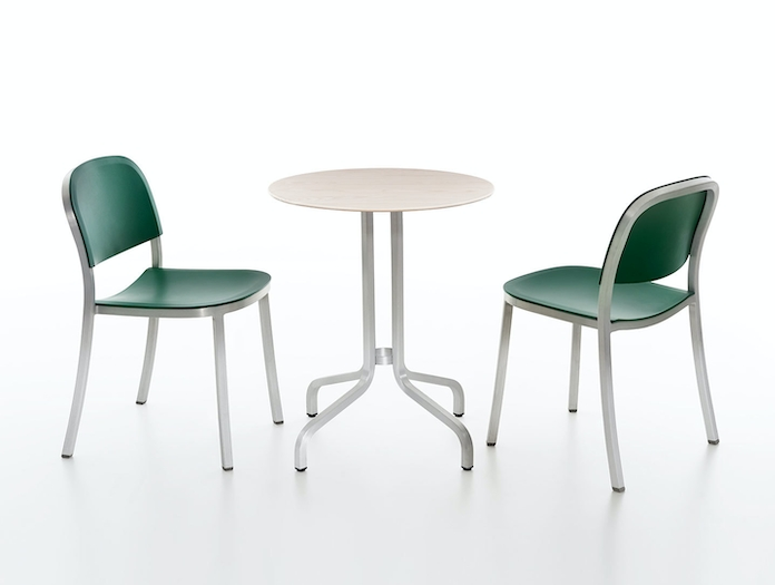 Emeco 1 Inch Chairs Table Jasper Morrison