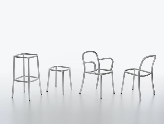 Emeco 1 Inch Collection Recycled Aluminium Frames Jasper Morrison