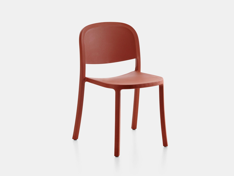 Emeco 1 Inch Reclaimed Chair Red Jasper Morrison