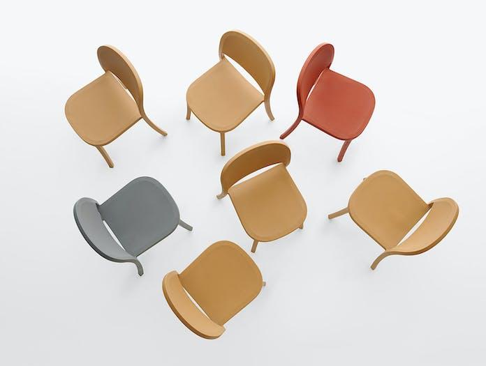 Emeco 1 Inch Reclaimed Chairs Jasper Morrison