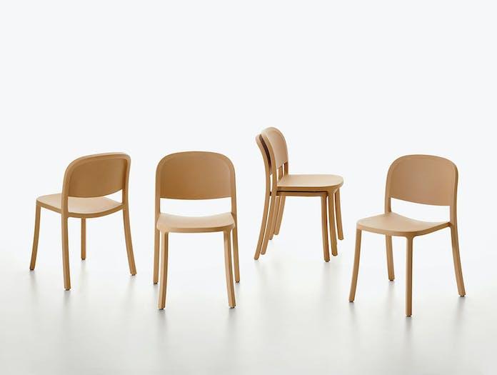 Emeco 1 Inch Reclaimed Chairs Group Jasper Morrison