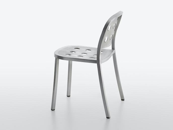 Emeco 1 inch all aluminium chair jasper morrison
