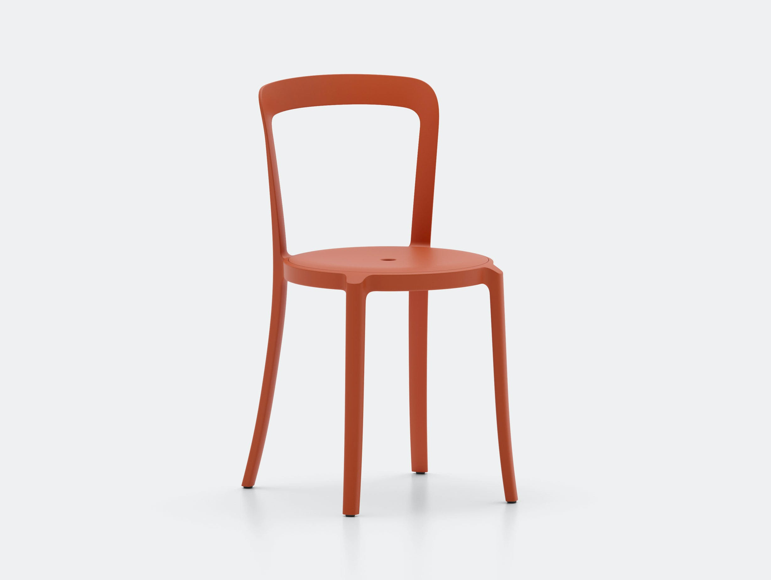 Emeco On and On Chair orange Edward Barber Jay Osgerby