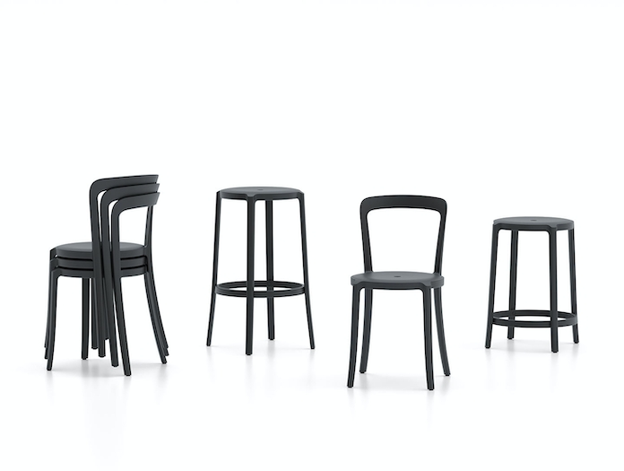 Emeco On and On Chairs and Stools Edward Barber Jay Osgerby